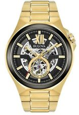 Bulova Men's Gold Tone Automatic (Mechanical) Watch: 98A178