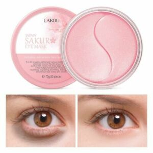 Moisturizing Eye Mask Dark Circles Remove Anti Age Bag Sakura Essence Collagen
