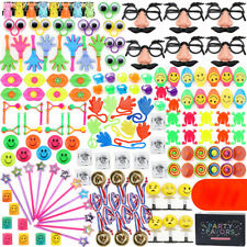 150PC Party Favors for Kids Birthday Goodie Bag Stuffers Piñata Filler Toy Assor