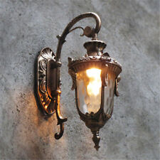 Outdoor Wall Lights Glass Wall Sconce Garden Wall Lamp Hallway Vintage Lighting