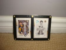 NHL Autographed Canada Post Stamps Mario Lemieux and Wayne Gretzky