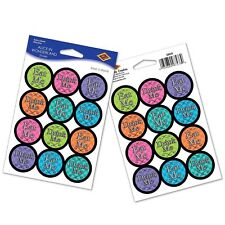 Alice in Wonderland Birthday Party Favor or Decoration STICKER SHEETS Stickers