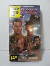 New ListingNew! Star Trek - The Cage - Original television Pilot episode 1 - 1986 Vhs Tape