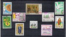 Túnez Valores del año 1982-2008 (DC-905)