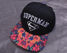 NWT NEW TM & DC COMICS Superman Adjustable CAP HAT