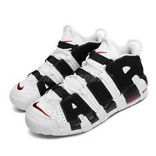 Nike Air More Uptempo GS White Black Red Scottie Pippen Women Kid 415082-105