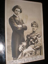 More details for old postcard jan kubelik and countess csaky szell used 1903
