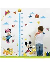 Disney Mickey Mouse Height Growth Chart Wall Sticker Birthday Gift