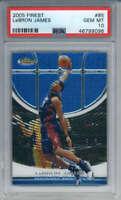 2005-06 Topps Finest LeBron James #85 Cleveland Cavaliers PSA 10
