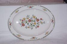 "Royal Doulton Kingswood 16"" Bone China Meat Dish Serving Platter Plate 1st"