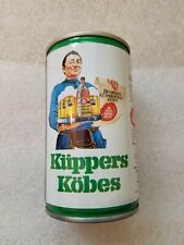 Kuppers Kobes Kolsch German beer can; bottom opened