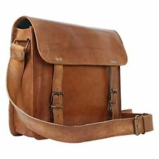 Rustic Town Handmade Leather Vintage Messenger Bag gift him her.