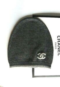 Chanel Cashmere Beanie Hat