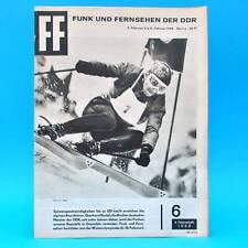 DDR FF-Dabei 6-1968 / 05.02.-11.02. TU Dresden Olympia Bertolt Brecht E. Riedel