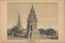 Dutch Indies Java Prambanan temple 1910s PC