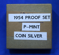 1954 U.S. Mint Proof Set in Original Box cellophane and tissue paper
