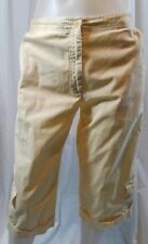 Izod Capri Pants Yellow Size 10