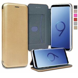 For Samsung Galaxy S8 S9 S10 PLUS A8 J6 Magnetic Flip Leather Case Wallet