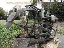 1x original rear fender Schutzblech Kotflügel Meister M55J - ggf. M53J M59J M61J