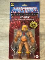 2020 Masters of the Universe Origins Walmart He-Man Battle Figure MOTU