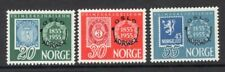 Norway 1955 Norwex Overprint Set of 3 MNH
