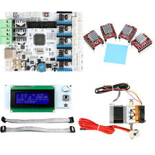 GT2560 MK8 extruder LCD2004 4pcs A4988 Electronic kits for Prusa I3 3D Printer