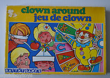 CLOWN AROUND (Jeu de Clown) BATTAT GAMES Board Game Spain 1980s