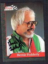 Bernie Fedderly #52 signed autograph auto 1993 Finish Line Nhra Trading Card