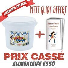Acide Citrique 5Kg -Qualité alimentaire E330 + guide d'utilisation