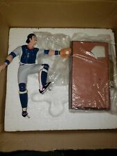 AUTHENTIC MIKE PIAZZA AUTOGRAPHED FIGURE SIGNED DODGERS SPORTS IMPRESSIONS
