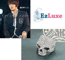 Korean TV Tohoshinki TVXQ DBSK Jejung Hero Skull Ring