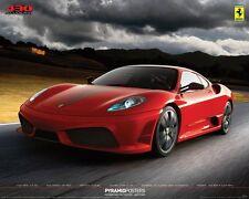 FERARRI Poster - Medium Size 16x20 Sports Car Print ~ Red 430 Scuderia