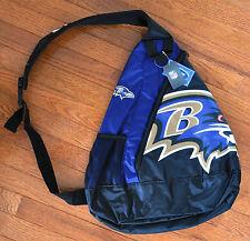 Baltimore Ravens BackPack / Back Pack Book Bag NEW - TEAM COLORS - SLING