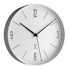Horloge murale radio-pilotée Lugano TFA 98.1096 aluminium verre DCF-77 198 mm de