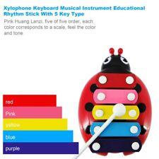 Xylophone Keyboard Musical Instrument Educational Rhythm Stick With 5 Key CG