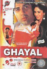 GHAYAL - SUNNY DEOL - MEENAKSHI - NEW ORIGINAL BOLLYWOOD DVD