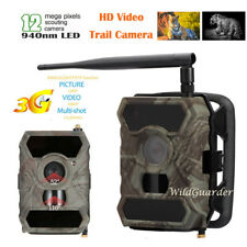 3G MMS Hunting Scouting Game Trail Camera 12MP HD Infrared No Glow Night Vision