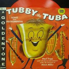 "Paul Tripp & Orchestra(Red 6"" Vinyl)Tubby The Tuba-Gala Goldentone-GG 4-UK-VG/VG"