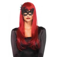 Leg Avenue Women's Fantasy Eye Mask Costume Accessory Black One Size