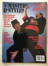 New listing Masters & Styles Martial Arts Magazine 1992 Jkd Silat Tkd Karaté Fighting Judo
