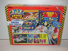 INCREDIBLE CRASH DUMMIES 1991 CRASH TEST CENTER 100% COMPLETE MIB TYCO