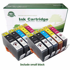 10 Pack 564XL Ink Cartridges for HP 564 XL Printer Black Color Set with New Chip