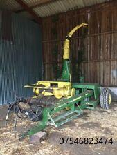 More details for john deere 3765 forage harvester + 2no. spare machines