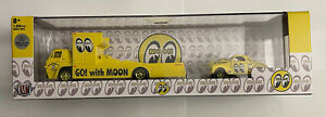 M2 Hauler Mooneyes 1966 Dodge L600 COE & 1941 Willys Coupe Gasser *Chase* 1/750