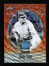 2019 Leaf Collection Yankee Stadium Seat Wave Orange 1/2 Babe Ruth #YS-21 HOF