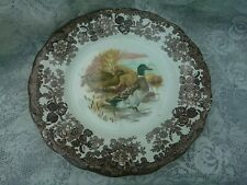 "Royal Worcester Palissy Game Series 10"" Dinner Plate - DUCK - MALLARD"