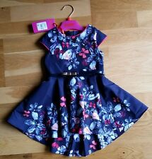 Ted Baker Girls Jewels Prom Party Dress - Navy - Age 12-18mths BNWT