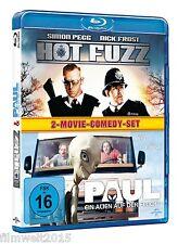 Hot Fuzz + Paul - Ein Alien auf der Flucht [Blu-ray](NEU/OVP) Simon Pegg, Nick