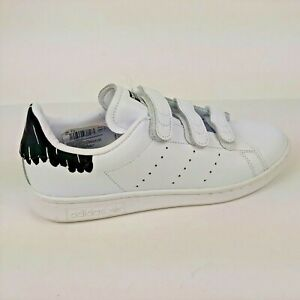 Adidas Originals Women's Stan Smith Shoes Size 7.5 US White / Black BY2975