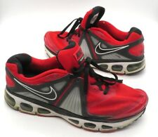 NIKE AIR MAX TAILWIND +4 Size 12 Red Black Running Shoes Sneakers 453976-600